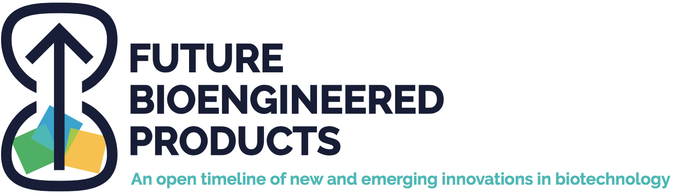 Future bioengineered products: An open timeline of new and emerging innovations in biotechnology
